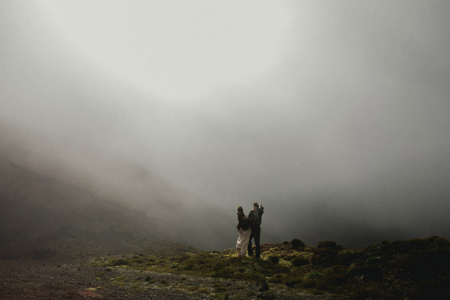 intimate azores elopement