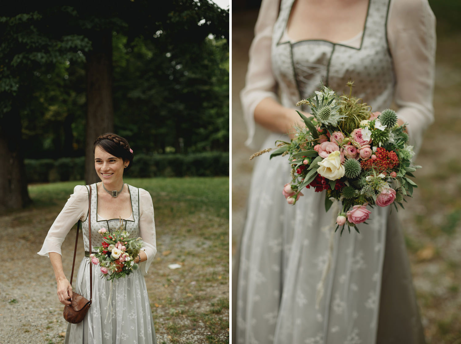 traditional vienna bride
