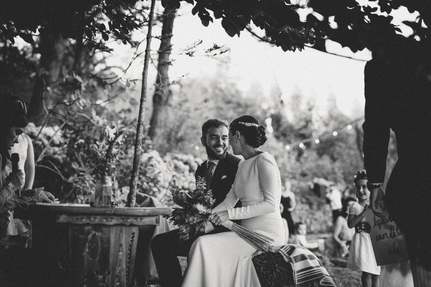 rustic outdoor ceremony portugal