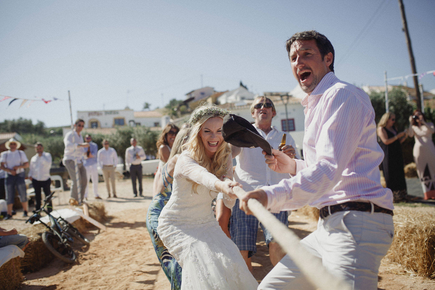 fun fair wedding aldeira da pedralva portugal wedding photographer