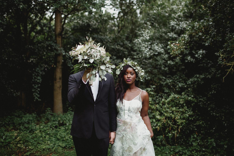 alternative wedding portrait in cambridge UK