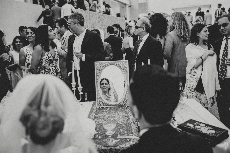 symbolic iranian ceremony in cascais portugal